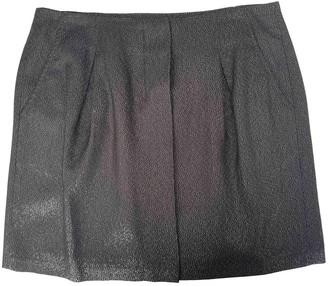 Vince Black Glitter Skirt for Women