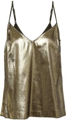 Frame Metallic Velvet Camisole