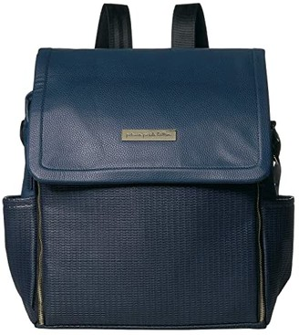 Petunia Pickle Bottom Leatherette Boxy Backpack