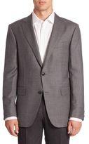 Pal Zileri Virgin Wool Plaid Jacket