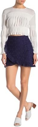Sugar Lips Ladybird Eyelet Knit Skirt
