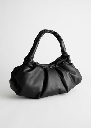 And other stories Gathered Leather Bag
