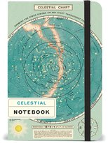 Cavallini NBCELEST/SM Papers Celestial Notebook 4 x 6""
