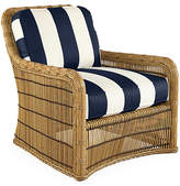 Lane Venture Rafter Striped Lounge Chair - Navy