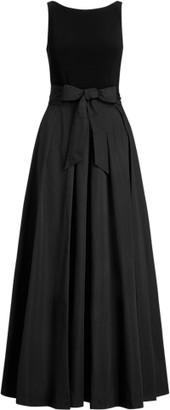 Ralph Lauren Taffeta Sleeveless Gown