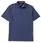 Roundtree & Yorke Casuals Short-Sleeve Printed Polo Shirt