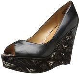 Nine West Women's Audora Leather Wedge Pump