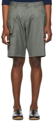Jacquemus Green Le Short Gadjo Shorts