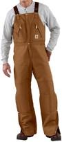 Carhartt Quilt-Lined Duck Bib Overalls - Factory Seconds (For Men)