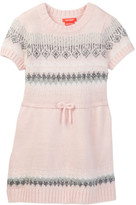 Joe Fresh Fairsle Dress (Toddler & Little Girls)