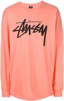 Stussy logo patch sweatshirt