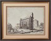 OKA Arch of Constantine East Face Framed Print