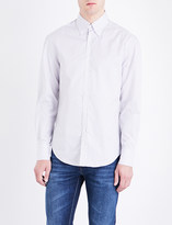 Brunello Cucinelli Striped button-down cotton shirt
