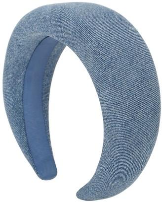 Ganni Cotton Denim Headband