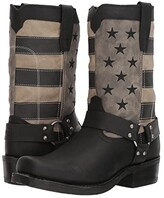 Durango Flag Harness 11 Boot (Black/Charcoal/Grey) Cowboy Boots