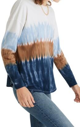 Madewell Tie Dye Newville Organic Cotton T-Shirt