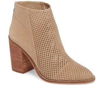 Steve Madden Rumble Perforated Bootie