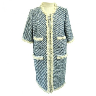 Louis Vuitton Blue Cotton Coats