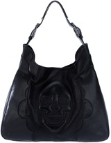 Philipp Plein Skull embossed bag