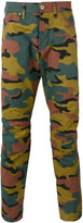 G Star G-Star - camouflage print trousers - men - Cotton/Polyester - 29