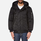 Converse Men's Channel Quilted MA-1 Jacket