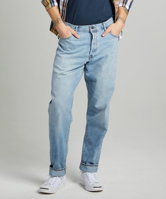 Todd Snyder The Relaxed Jean in Selvedge Huxley Wash