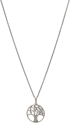 Rivka Friedman Signature Collection 14K & Silver 1.25 Ct. Tw. Champagne Diamond 37In Necklace