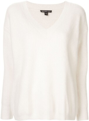 James Perse V-neck jumper