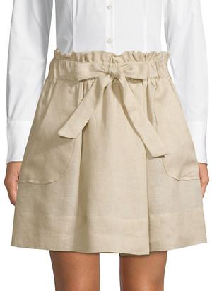 Milly Kori Gathered Skirt