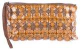 Marni Embellished Woven Clutch