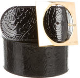 Etro Patent Leather Waist Belt