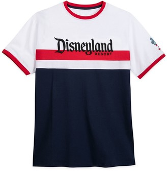 Disney Disneyland Americana Ringer T-Shirt for Adults
