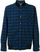 Sacai plaid shirt - men - Cotton - 2
