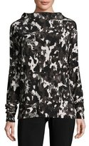 Norma Kamali All In One Mini Convertible Top/Tunic, Modern Camo