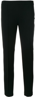 Boutique Moschino Rib Detail Cropped Trousers