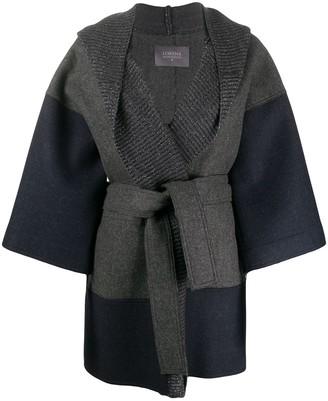 Lorena Antoniazzi Oversize Belted Wool Coat