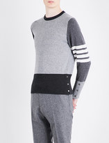 Thom Browne Fun Mix knitted cashmere jumper