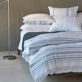 Coyuchi Organic Cotton Geo Stripe Duvet Cover, Full/Queen