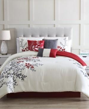 Riverbrook Home Pemberton 7 Piece Comforter Set, Queen Bedding