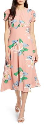 Capulet Georgie Linen Blend Midi Dress