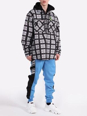 Givenchy Blue & Black Panel Sweatpants