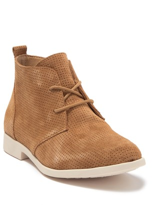 Børn Bazu Perforated Suede Chukka Boot