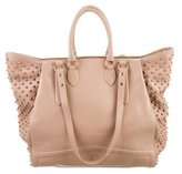 Christian Louboutin Justine Spiked Tote