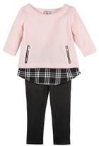 G-Cutee Girls' 2 Piece Tunic & Legging Set - Pastel Pink