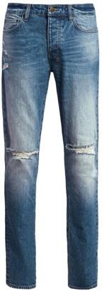Ksubi Sign Of The Times Chitch Nostalgia Trashed Jeans