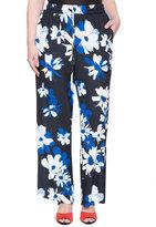 ELOQUII Plus Size Printed Soft Flare Pant