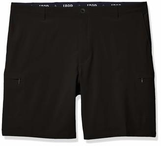 Izod Men's Big & Tall Big and Tall Golf Swingflex Cargo Short