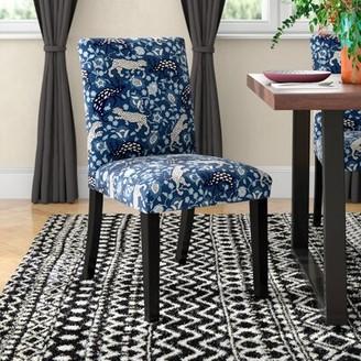 "Mistanaâ""¢ Aeliana Leopard Upholstered Parsons Chair Mistanaa"