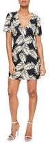 Missguided Women's Print Plunge T-Shirt Dress
