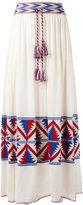 Laneus tassel waist skirt - women - Cotton/Viscose - 40